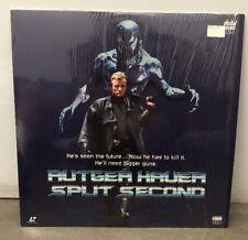 SPLIT SECOND 1992 Laserdisc RUTGER HAUER HBO VIDEO