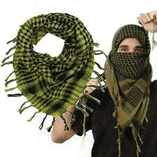 Light weight Military Arab Tactical Desert Army Shemagh KeffIyeh Scarf Yellow #M