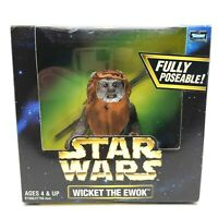 Kenner Star Wars Action Collection Wicket The Ewok Figure 1998
