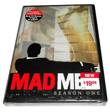 NEW MADMEN SEASON ONE DVD 4-DISC SET ALL 13 EPISODES SUPER FAST SHIPPING