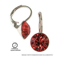 orecchini con Swarovski Elements, Colore: India Rosso