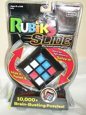 Rubik's Slide Electronic Puzzle Game 10,000+ Brain-Busting Puzzles! NEW