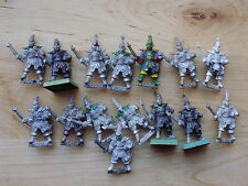 GW Citadel Warhammer RR11 Mengil Manhide Dark Elf Male Trooper x 1 OOP