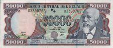 Ecuador 50.000 sucres 1999 PICK 130c (1)