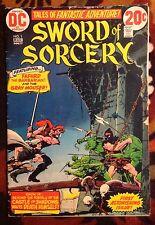 Sword of Sorcery #1 DC Comics (1973) Mike Kaluta Art! VG)