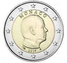 2 euro Monaco Albert II 2019
