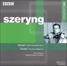 Mozart: Violin Concerto No. 3; Vivaldi: The Four Seasons, New Music