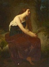 """perfect oil painting handpainted on canvas """" Saint Mary Magdalene """" N12768"""