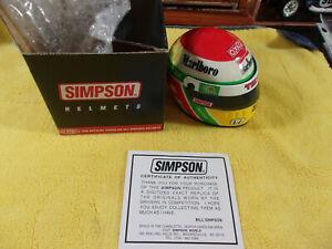 Adrian Fernandez Signature Edition Simpson INDY Mini Helmet - Marlboro   NOS!