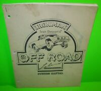 Super Off Road ORIGINAL Video Arcade Game Machine Instruction Owners Manual 1989