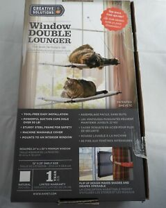 K & H Creative Solutions Window Double Lounger - 2 Levels - Multiple Cats