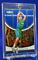 DIRK NOWITZKI TOPPS FINEST BLUE CHROME RARE SP DALLAS MAVERICKS HOF!