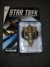 Eaglemoss Star Trek Voyager Hirogen Warship miniature