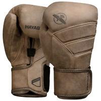 Hayabusa T3 LX Leather Boxing Gloves Handmade MMA Muay Thai Kickboxing