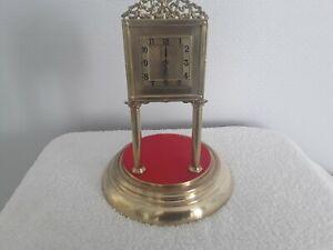 JUF 400 DAY TORSION ANNIVERSARY CLOCK SQUARE DIAL Circa 1912  FOR RENOVATION