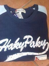 Felpa in cotone garzato per bambino, 7-8 anni, colore blu, HakyPaky