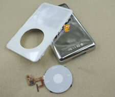 White Front Faceplate Back Housing Case Cover Clickwheel for iPod 5th Video 80GB