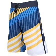 "Billabong Men Slice Yellow 21"" Boardshorts Swimwear Sz 32"
