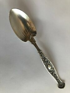 "Whiting Hyperion Sterling Silver 6"" Spoon Shreve & Co Sugar or teaspoon"