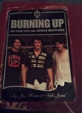 JONAS BROTHERS...BURNING UP, ON TOUR WITH THE JONAS BROTHERS BOOK, COLLECTABLE