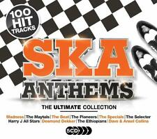 ULTIMATE SKA ANTHEMS 5 CD SET (100 Hit Tracks)  (Released March 2nd 2020)
