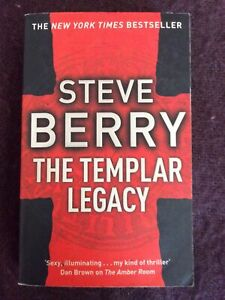 The Templar Legacy: Book 1 by Steve Berry (Paperback, 2006)