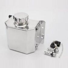 1L Aluminum Brether Radiator Fluid Oil Catch Can Reservoir Coolant Overflow Tank