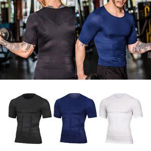 Débardeur Gainant T-Shirt Amincissant pour Homme Minceur Body Shaper