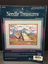 new Stitchery Treasures Day Dreamin 04656 Made In USA