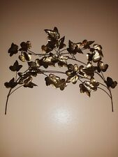 Homco Leafs And Butterflies Vintage Rare