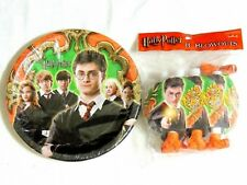 HARRY POTTER & THE ORDER OF PHOENIX~    8-  LUNCH  PLATES & BLOWOUTS     PARTY