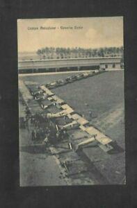 REGNO Cartolina campo aviazione venaria reale rara