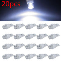 20PCS 12V DC T10 Car White LED 194 168 SMD W5W Wedge Side light Bulb lamp LIGHT