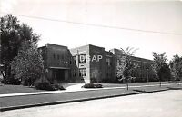 C83/ Hutchinson Minnesota Mn Real Photo RPPC Postcard 1954 High School Building