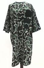 ADIDAS ORIGINALS CAMO Dress Tunic MILITARY BR5206 Loose Fit Womens XL RARE