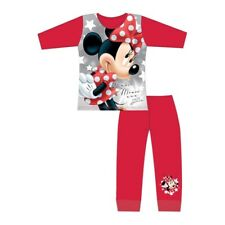 Girls Official Pyjamas Minnie Mouse 4-10 Yrs