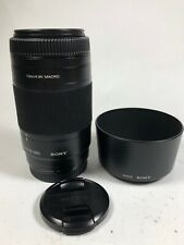 Sony Macro 75-300mm f4.5-5.6 lens for Minolta AF ex+++ condition