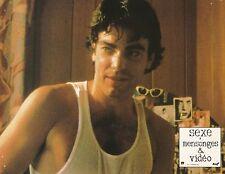 Peter Gallagher Sexe, Mensonges et Vidéo Steven Soderbergh Lobby card 1989