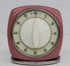 Vintage 60s Kultiger Wecker Uhr Timer Kienzle Kurzzeitwecker Uhr ~ 60er Jahre