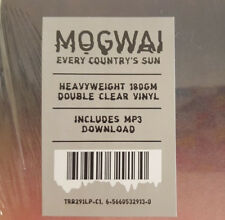 MOGWAI Every Country's Sun dbl LP LIMITED EDITION CLEAR VINYL NEW SEALED w/ mp3s