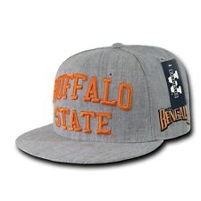NCAA Buffalo State College Bengals 6 Panel Game Day Snapback Caps Hats
