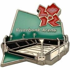 London 2012 Olympics Venue Riverbank Arena Pin