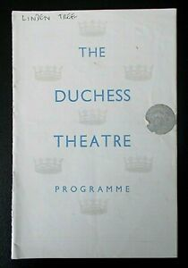The Linden Tree programme Duchess Theatre ~1948 Sybil Thorndike Lewis Casson