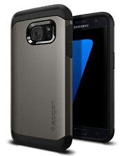 Spigen Coque Arrière Adapté pour Samsung Galaxy S7 Gri