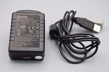 KODAK USB AC ADAPTER TESA5G1-0501200 WITH CABLE FOR KODAK V1253 CAMERA EH3055