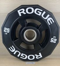 25lb Rogue 12 Sided Urethane Grip Plate 2� Olympic Change Plate Single