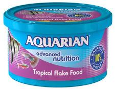 Nourriture pour Poissons Tropicaux 25g Flocons Aquarian Avancé Nutrition Riche