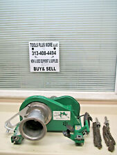 Greenlee 640 4000lb Wire Tugger Puller Chugger With 36 Chains Used Free Shipping