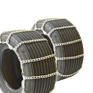 Titan Light Truck Link Tire Chains CAM On Road Snow/Ice 5.5mm 10-16.5