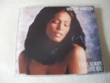 WHITNEY HOUSTON - I WILL ALWAYS LOVE YOU - UK CD SINGLE